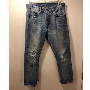 Levi's women's 505c straight jeans - 28